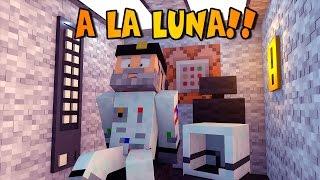 Minecraft | VIAJE A LA LUNA! NO Mods | Minecraft Vanilla |