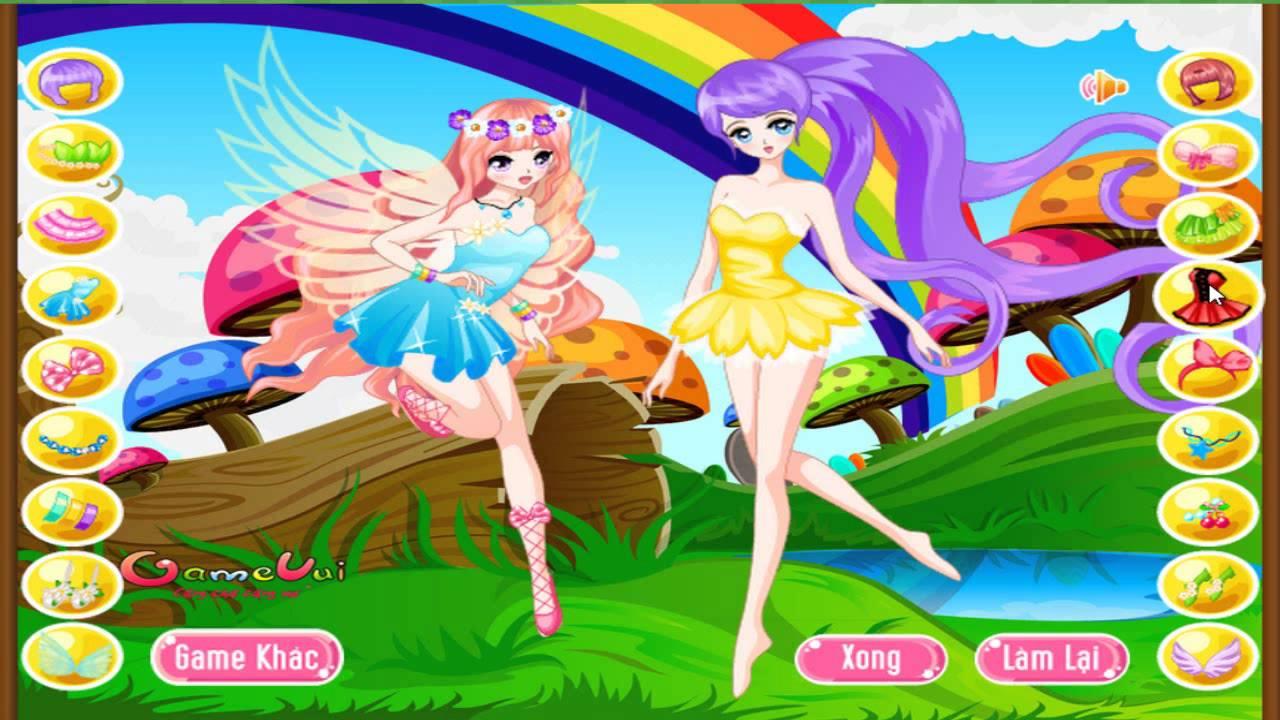 Hướng dẫn chơi game Hai cô tiên - Cute Fairies trên Game Vui