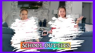 OUR MOM PICKS OUR SCHOOL OUTFITS FOR A WEEK  | SISTER FOREVER