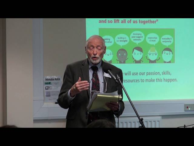 Professor Edgar Cahn - why we need co-production