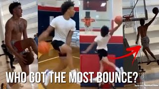 LaMelo Ball And Mikey Williams Shows Off Their INSANE BOUNCE!