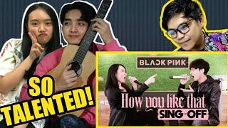 "WOW! REZA DARMAWANGSA VS JW 'MOCHI ESKRIM' SING OFF!! ""BLACKPINK - How You Like That"" Reaction"