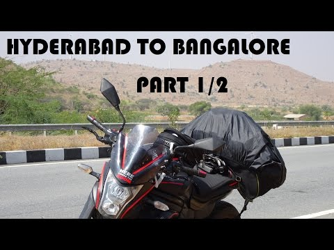 Hyderabad To Bangalore NH44 | Kawasaki ER6N | Part 1/2