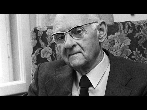Hans Urs von Balthasar ( 1 de 2 ) - Interviewé par Marcel Brisebois