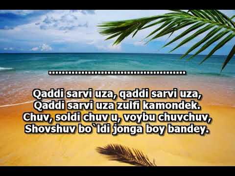 Jahongir Otajanov-qaddi baland minus(karaoke)