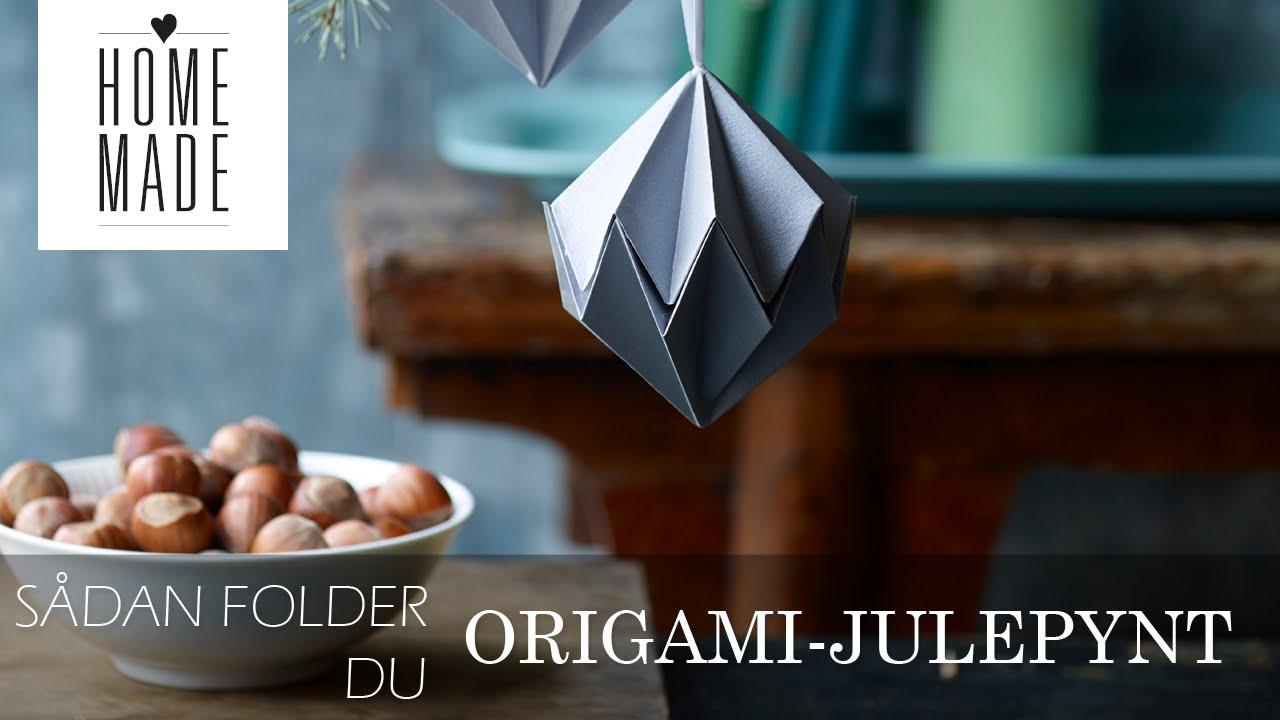 ORIGAMI-JULEPYNT | HOMEMADE