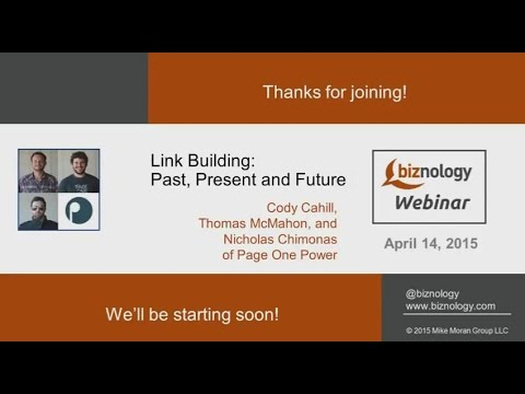 Link Building: Past, Present and Future