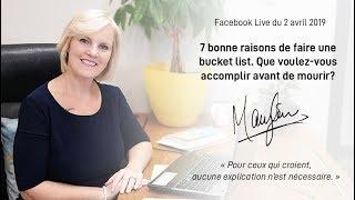#51 FB live : 7 bonnes raisons de faire votre bucket liste