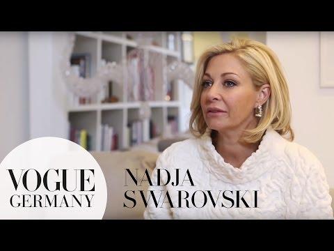 da102e6199b6 Wie sieht Nadja Swarovskis Büro aus und was inspiriert sie