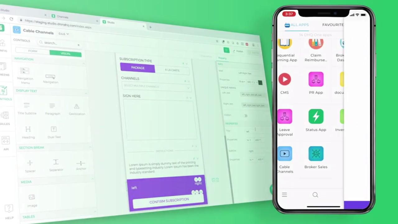 Studio - DronaHQ Low Code App Development Platform