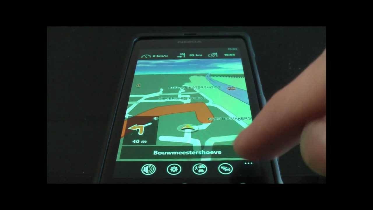 Navigon for Windows Phone