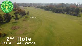 Orsett Golf Club 2nd Hole Flyover