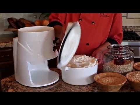 How To Make All Purpose Flour with Your NutriMill Classic with Chef Brad