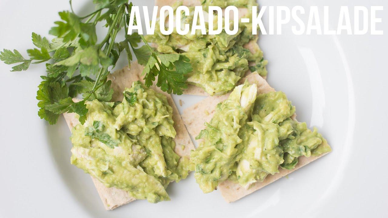 Recept Avocado Kipsalade Ohmyfoodness Youtube