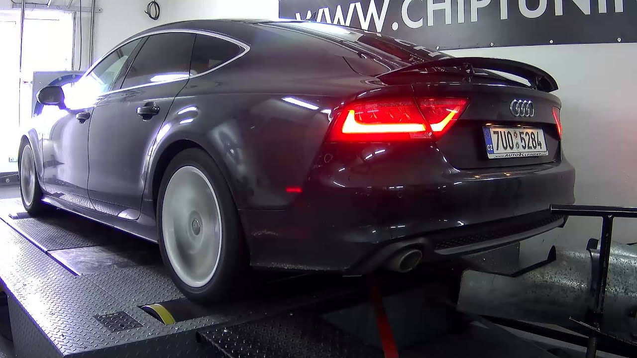 chiptuning audi a7 3 0 tdi 180kw youtube