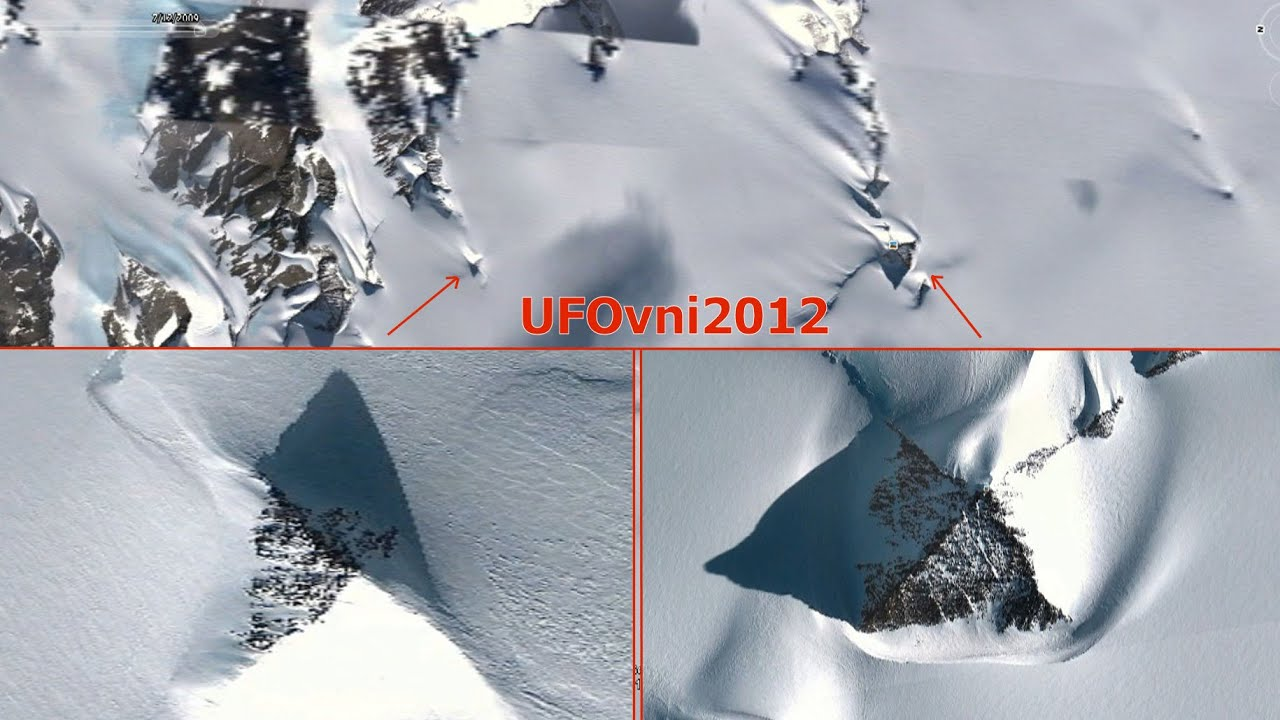 NEW Huge Pyramids Like Structure Discovered In Antarctica