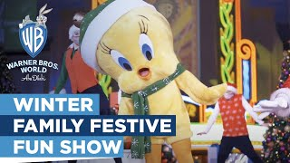 Warner Bros. World™ Abu Dhabi | Winter Family Festive Fun Show