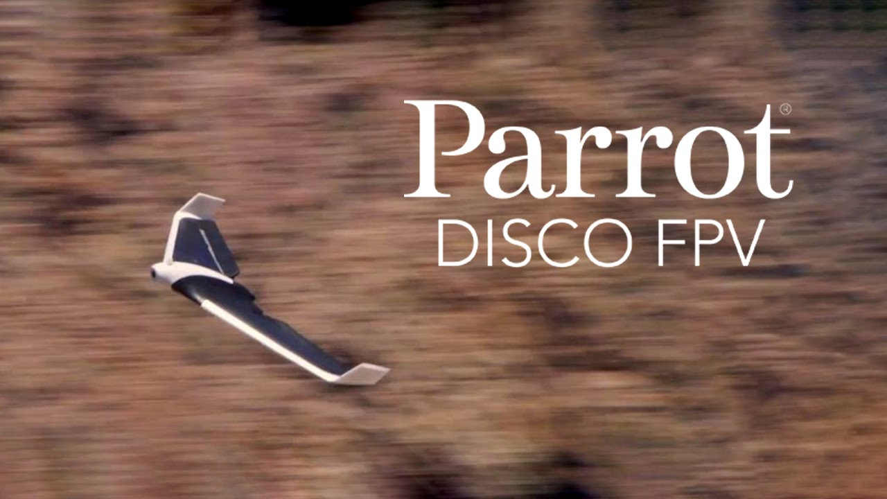 Parrot Disco Fpv Official Video Youtube
