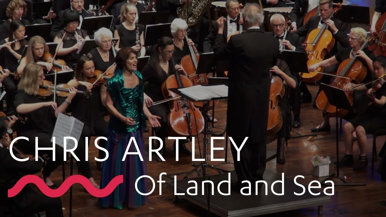 World premiere of Chris Artley's, 'Of Land and Sea'!