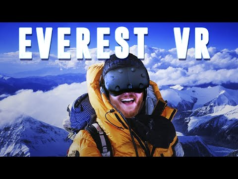 Everest VR: Climb Mount Everest in virtual reality with the HTC Vive