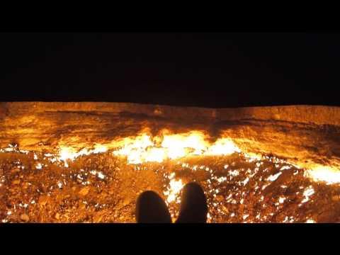 Door To Hell - Darvaza Gas Crater, Turkmenistan