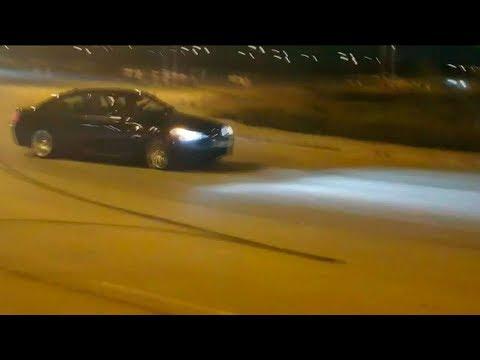 Carreras ilegales de coches junto al Ensanche de Vallecas