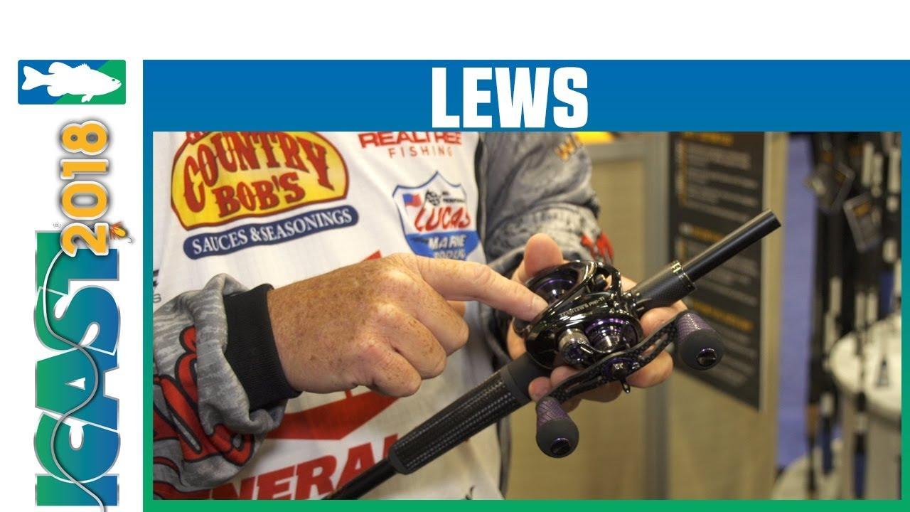 Icast 2018 Videos Lews Team Lews Pro Ti Slp Speed Spool Casting Reel