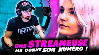 UNE STREAMEUSE ME DONNE SON 06 !! (test de QI ft JeelTV)