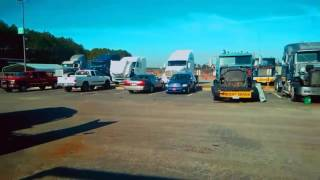 Обучение на водителя-дальнобойщика и тест-драив тягача