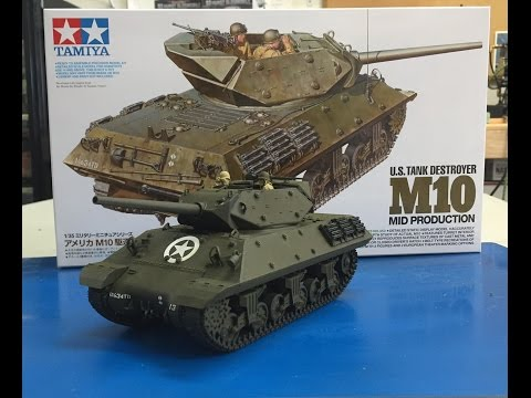 The NEW 1/35  Tamiya M10 Tank Destroyer 35350 , plastic models