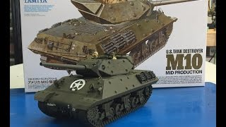 The NEW 1/35 Tamiya M10 Tank Destroyer 35350 , plastic models