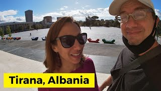 Weird and interesting things in Tirana, Albania - travel vlog