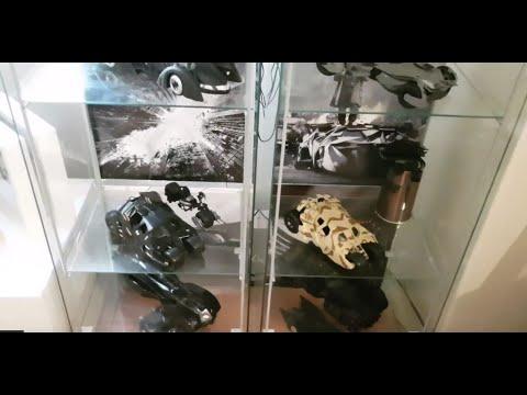 Complete Batmobile Evolution 1:18 Scale Diecast Collection 2017 (Hot Wheels/Hot Toys/Enterbay/Corgi)
