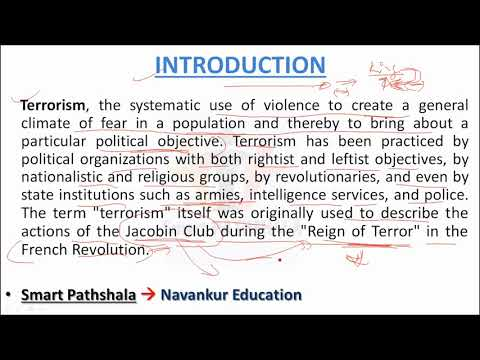 Видео Essay on terrorism in pakistan 2013