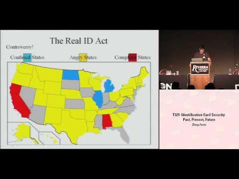 DEFCON 16: Identification Card Security: Past, Present, Future