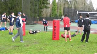 2012 BC Rugby Coaching Clinic - workshop with Jeff Williams