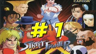 Street Fighter EX plus Alpha: Part 1