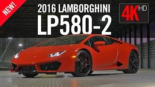 2016 Lamborghini Huracan LP580-2 Review Test Drive 4K