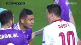 Real Madrid vs Sevilla 15012017 full match 1st half