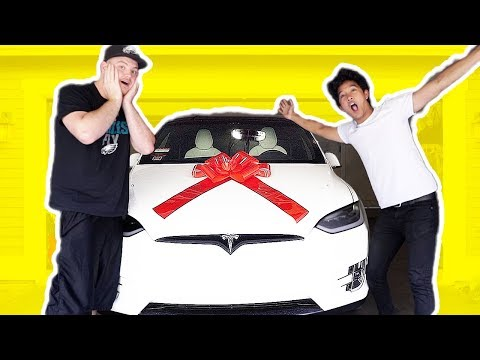 BOUGHT MY BEST FRIEND HIS DREAM CAR!!! PRANK!!