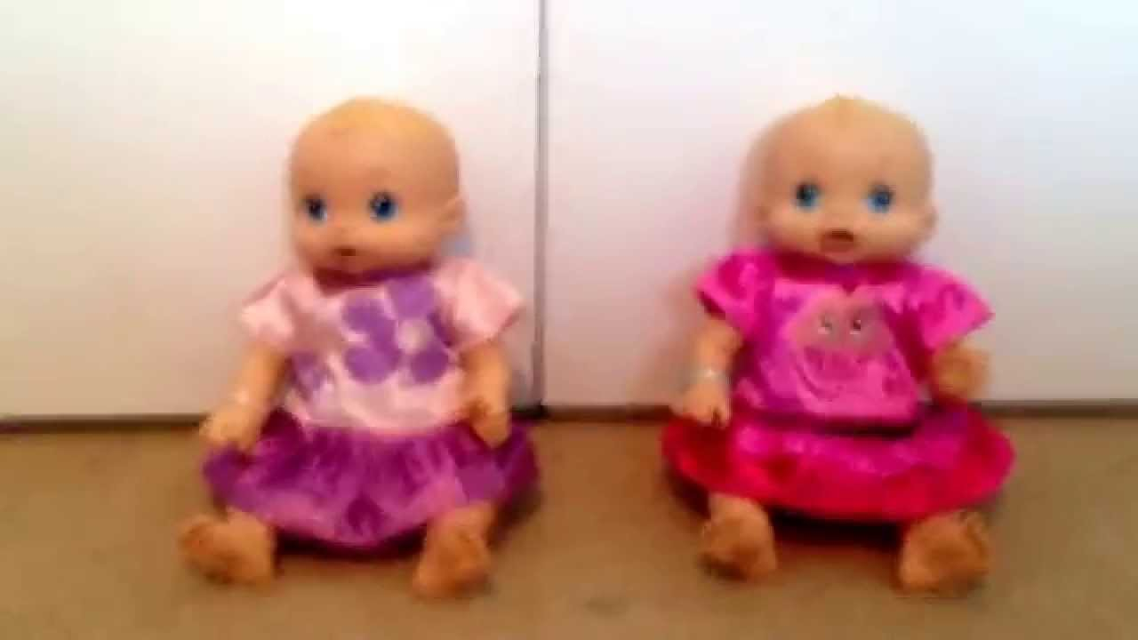 My Baby Alive Twins Youtube