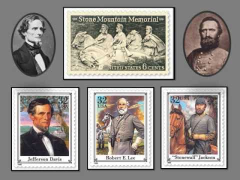 The Civil War Depicted on Stamps