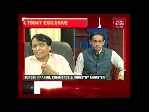 India Today Exclusive: Interview With Suresh Prabhu | New Commerce And Industry Minister