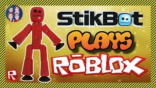 StikBot spielt Roblox! - STIKBLOX - Roblox High School FIGHT! und Creepy Mansion