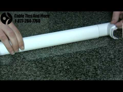 Smooth Mould - High Quality Wall Cord Covers - YouTube
