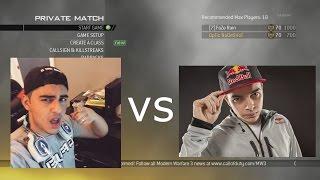 OpTic NaDeSHoT vs. FaZe Rain - $500 Bet (MW2 Rust 1v1)