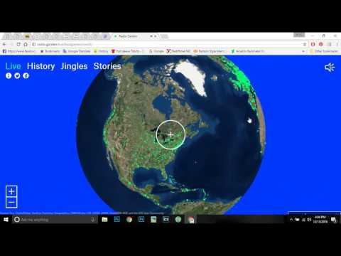 RADIO GARDEN LIVE _ HOW TO LISTEN A GLOBAL RADIO STATION