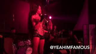 Azealia Banks Live in NYC at The Highline Ballroom 2017