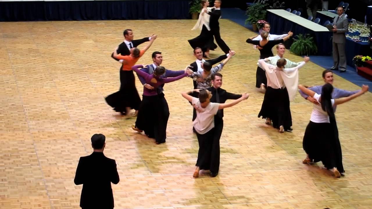 BYU Dance Sport Foxtrot 2013 Semi Finals Formation Style