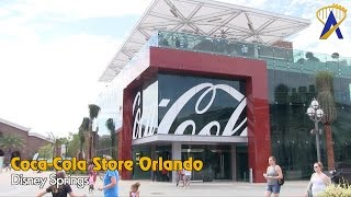 Tour the Coca-Cola Store at Disney Springs Town Center